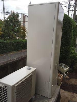 電気温水機⇒エコキュートへの御取替え