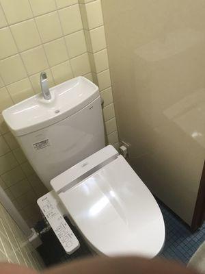 自治会館トイレ改修工事