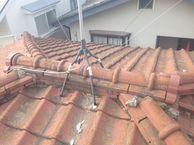 セメント瓦屋根⇒金属屋根への葺き替え
