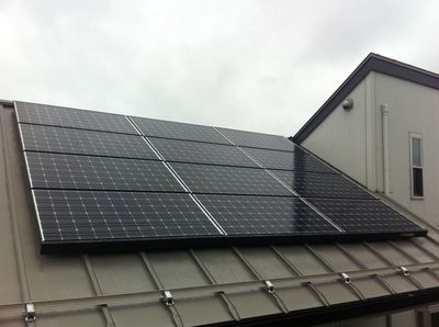暑さに強いパナソニックHIT太陽光発電