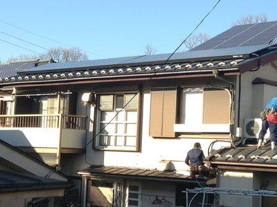 太陽光発電+屋根葺き替え工事